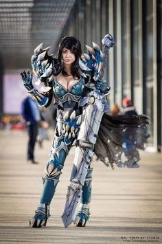 Death Knight Tier 15 from World of Warcraft by Rawarhii Cosplay Photo by JL Cosplay.Studio