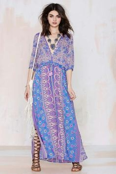 Spell Boho Blossom Maxi Dress #maxidress #women #covetme #nastygal