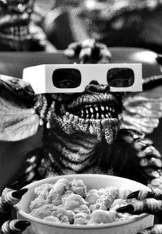 The 3D Glasses Gremlin - 'Gremlins', 1984, directed by Joe Dante.