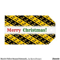 Shop for Merry Christmas gift tags & enclosure cards on Zazzle. Music Teacher Gifts, Music Teachers, Christmas Gift Tags, Merry Christmas, Music Lovers, Black N Yellow, Musicians, Notes, Pattern