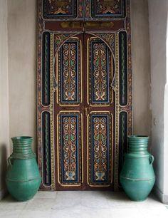 3. Puerta en Tanger, Marruecos. Foto: Mo Hoffman