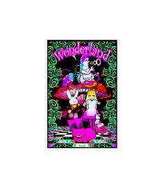 SVP1910 - Wonderland 2 Blacklight Poster