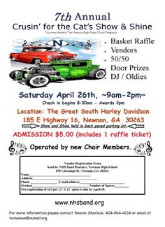 7th Annual Crusin' for the Cats Car Show & Shine   4/26/2014 | Newnan, GA #Lingenfelter Hot Find #CarShow #Auto
