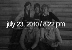 Happy 4th anniversary One Direction. I'm so blessed to have been a part of it ♡