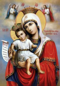 Blessed Mother Mary -So pretty Divine Mother, Blessed Mother Mary, Blessed Virgin Mary, Religious Images, Religious Icons, Religious Art, Jesus And Mary Pictures, Mary And Jesus, Catholic Art