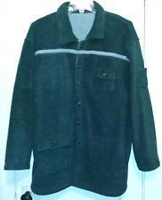 Of Substance Reversible Gray Fleecy Jacket, One Size (measurements provided)