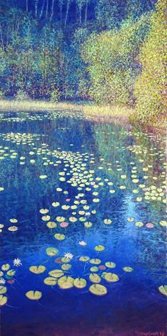 Summer Light, Myrdammen - NORWAY Oil on linen, 100 x 50 cm Shops, Monet, Impressionist, Norway, Oil, Artwork, Summer, Painting, Inspiration