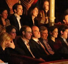Kate Middleton Celebrating Birthday at Cirque du Soleil w/ Carol, Michael, James and Pippa Middleton