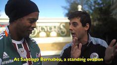 Ronaldinho gets treated to an excellent tribute rap by Brazilian hip-hop star Fabio Brazza (Video)