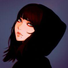 By Ilya Kuvshinov discovered by Ǥ∆ℓℓεɤiεʀ on We Heart It Female Character Design, Character Art, Akira, Witcher Wallpaper, Kuvshinov Ilya, 5 Anime, Fanart, Black Girl Art, Anime Art Girl