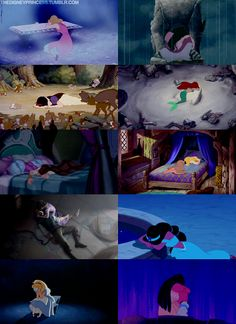 Dramatic, Every Princess has a lot of emotions.