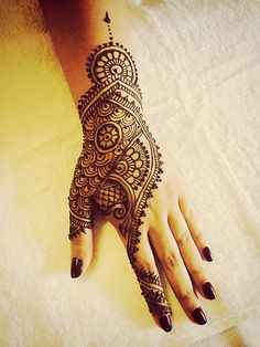 Today's EID henna.Recreated henna by Wardah design   Flickr - Photo Sharing!
