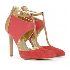 Sole Society Shoes - T-strap heels - Adele