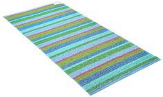 Plastmatta Stripe blå, Horredsmattan