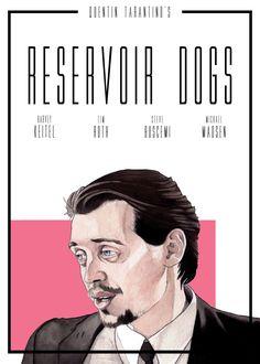 SDV ART — Tarantino's Movie Posters Art by @sdvart