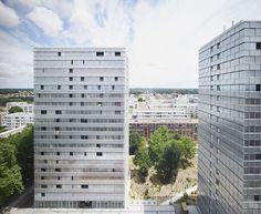 LAN Architecture, Urban Renovation Lormont, France