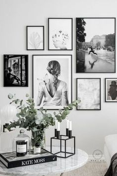 Add character to your home with gallery walls of your favorite collection of prints and photos. Frame Wall Collage, Gallery Wall Frames, Frames On Wall, Frames Decor, Wall Decor, Framed Wall, Picture Frame Decor, Photo Frame Ideas, Family Picture Collages