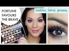 Makeup Revolution Fortune Favours The Brave with Britishbeautyblogger   tambeauty.com
