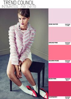 AW 14/15 via Trend Council - in the pink?