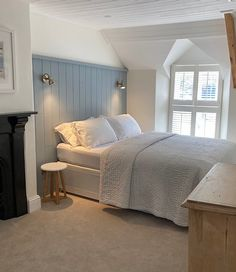 Master Bedroom Interior, Bedroom Inspo, Home Bedroom, Bedroom Furniture, Bungalow Bedroom, Bedroom Decor, Bedroom Ideas, Barn Bedrooms, Cottage Bedrooms
