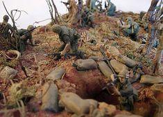 Dioramas and Vignettes: Hamburger Hill. Vietnam, May 1969