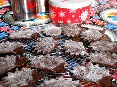 Avent 2015 #10 : des biscuits chocolat cannelle en forme de hérissons. #biscuits #Noël #chocolat