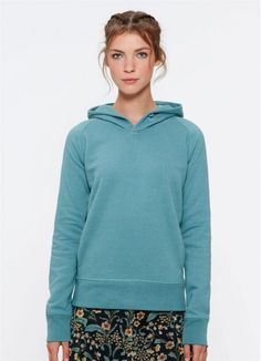63e80bb273ac09 Toasty Girl in the gorgeous Heather Eucalyptus! Made from 85% organic  cotton and fair