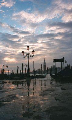 Sunrise over San Giorgio Maggiore, Venice