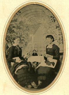 Sewing Circle Tintype