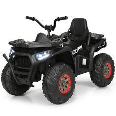 Electric 4 Wheeler, Kids Atv, Light Building, Kids Ride On, Monster Trucks, Time Kids, High Low, Slot, Connect