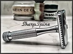 Shaving set, straight razor, badger brush, shaving soap, safety razor