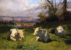 Rosa Bonheur >> Cows Resting
