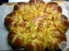 I manicaretti di Annarè: Stella di pan brioche salata