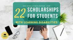 Scholarships for students with learning disabilities make college more affordable. If you have a learning disability, here are some worth exploring. Student Grants, Scholarships For College Students, Preschool Special Education, Gifted Education, Native American Scholarships, Academic Writing Services, College Search, Special Needs Students, School Psychology