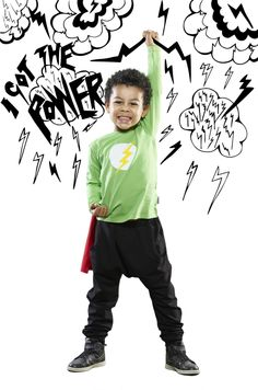 I'm a Hero#kids# fashion#style#moda