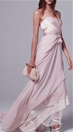 J. Mendel dress. So beautiful. It's really a piece of art.