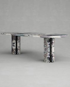 dolce-dining-table-francesco-balzano-kolkhoze - The world's most private search engine Furniture Dining Table, Modern Dining Table, Dining Room Table, Marble End Tables, Table For Small Space, Furniture Market, Furniture Design, Decoration Table, Glass Table