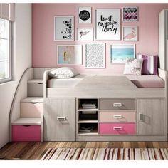 Cool Bunk Beds, My Room, My Dream Home, Office Desk, Corner Desk, Sweet Home, Barbie, Vanity, Room Decor