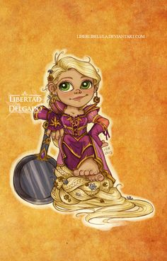Princesas de Disney rediseñados como 'World of Warcraft' Personajes - Parte 2