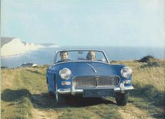 MG Midget advert 3 Retro Cars, Vintage Cars, Antique Cars, Mg Midget, Austin Healey Sprite, Mg Cars, British Sports Cars, Sweet Cars, Car In The World