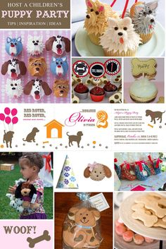 Spruce Kids {Blog}: A Puppy Party by Courtney Dial from Pizzazzerie