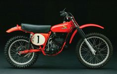 Marty Smith's #1 bike: '74 RC125 Elsinore