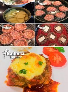 Hasanpasa Koftesi Tarifi, How to make, Meat foods Meatball Recipes, Meat Recipes, Dinner Recipes, Food Articles, Family Meals, Mashed Potatoes, Pasta, Food And Drink, Yummy Food