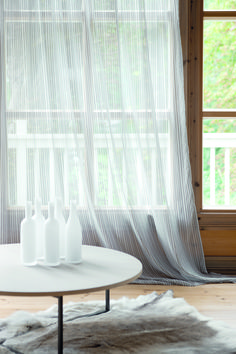 The sheer pleasures collection is made up of 6 striped sheers available in a neutral palette. Sheer pleasures fabrics are wide width, making them ideal for curtains and accessories. Sheer Curtains, Window Curtains, Drapery, Traditional Windows, Window Dressings, Neutral Palette, African Design, Sheer Fabrics, Contemporary Style