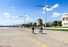Nea Paralia Thessaloniki - Greece Alexander The Great Statue, Greek Girl, Street Musician, Big Town, Wooden Ship, Thessaloniki, Greek Islands, Listening To Music, Athens