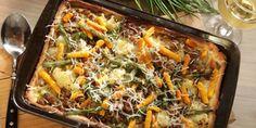 Japchae, Paella, Quiche, Breakfast, Ethnic Recipes, Food, Lasagna, Morning Coffee, Essen