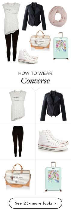 """""""Untitled #1930"""" by aliciabadrick on Polyvore featuring River Island, Chicwish, Converse, Pistil and Ted Baker"""