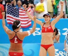 Misty May-Treanor and Kerri Walsh ready for London 2012