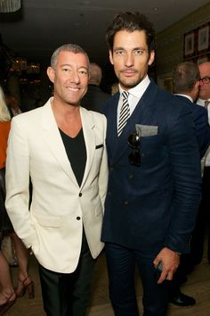 "Grant Pearce and David Gandy - ""GQ closes-out LC:M with Samuel L Jackson, David Gandy, Tinie Tempah and more - GQ.co.uk"""