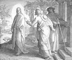 Bilder der Bibel - Jesus erscheint zwei Jüngern bei Emmaus